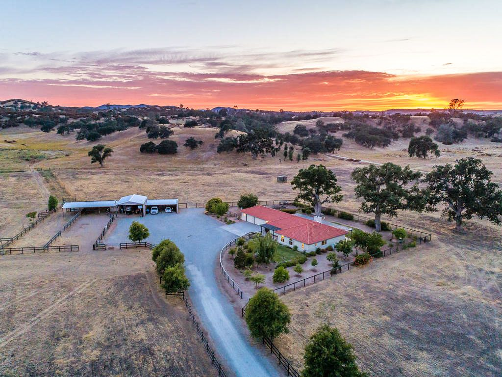 Creston Ranch For Sale - Horse Property For Sale - O'Donovan Road, Creston, California