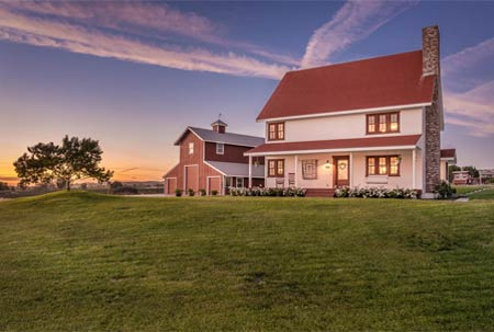 Paso Robles Wine Country Farmhouse w/ Wood Barn For Sale!